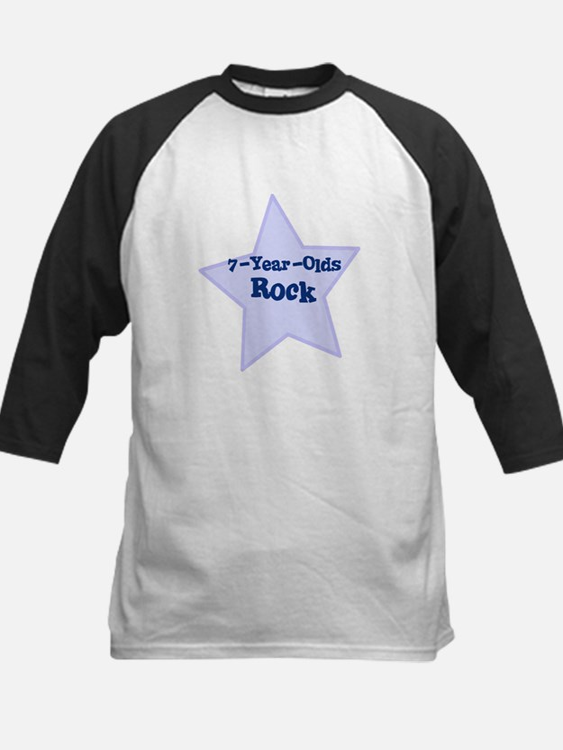 7-Year-Olds Rock Kids Baseball Jersey