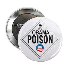 """Extreme Anti Obama Button 2.25"""" (single)"""