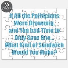 Sandwich Politicians Puzzle