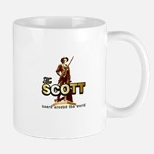 Unique Scott brown Mug