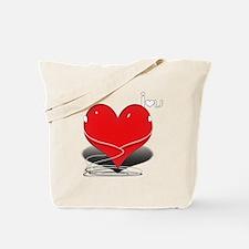Cute Ipod parody Tote Bag