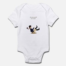 If at First You Fall Girl Infant Bodysuit