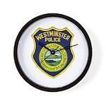 Westminster Massachusetts Pol Wall Clock