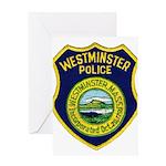Westminster Massachusetts Pol Greeting Card