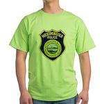 Westminster Massachusetts Pol Green T-Shirt