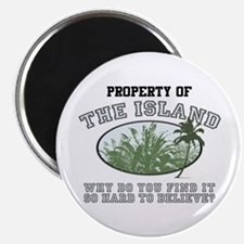 Property of the Island Magnet