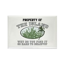 Property of the Island Rectangle Magnet