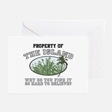 Property of the Island Greeting Cards (Pk of 20)