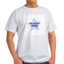 4th Graders Rock Ash Grey T-Shirt