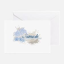 Blue Namaste Greeting Cards (Pk of 20)