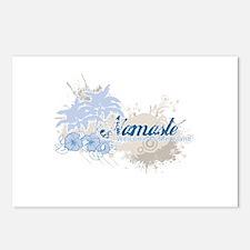 Blue Namaste Postcards (Package of 8)