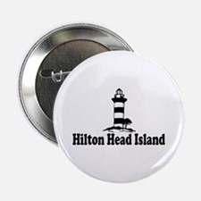 "Hilton Head Island SC - Lighthouse Design 2.25"" Bu"