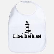 Hilton Head Island SC - Lighthouse Design Bib