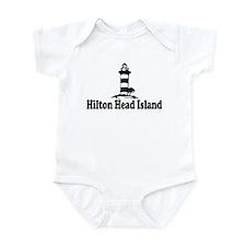 Hilton Head Island SC - Lighthouse Design Onesie