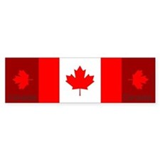 Flag of Canada Bumper Bumper Sticker