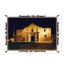 Remember alamo Postcards (Package of 8)