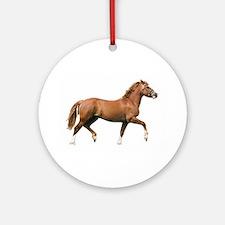 Pyöreä Welsh posliinikoriste - Ornament (Round)