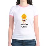 Canadian Chick Jr. Ringer T-Shirt