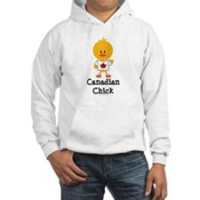 Canadian Chick Hoodie