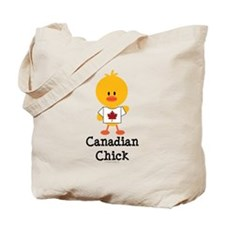 Canadian Chick Tote Bag