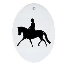 Soikea posliinikoriste - Oval Ornament