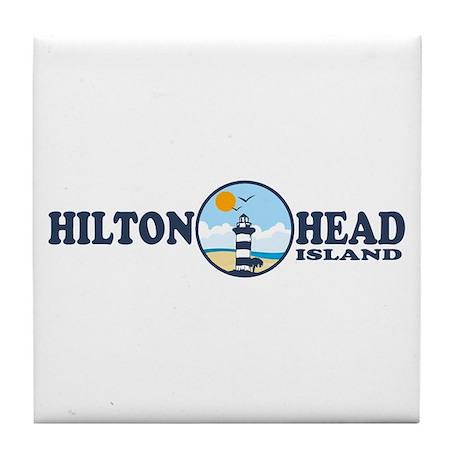 Hilton Head Island SC Tile Coaster