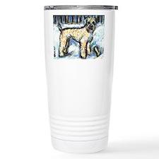 Winter Wheaten Mac in the sno Travel Mug