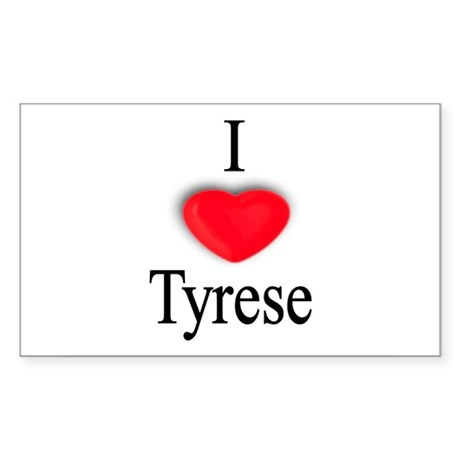 Tyrese Rectangle Sticker