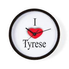Tyrese Wall Clock