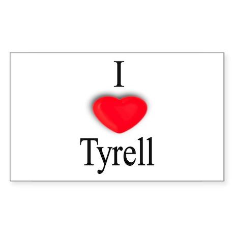 Tyrell Rectangle Sticker