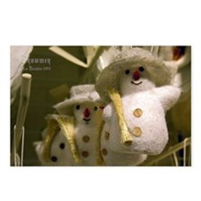 Snowmen Postcards (Package of 8)