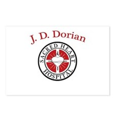 J. D. Dorian Postcards (Package of 8)