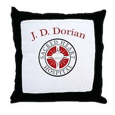 J. D. Dorian Throw Pillow