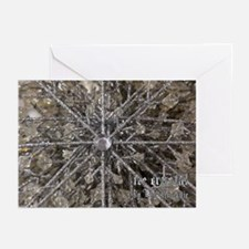 Ice Crystals Greeting Cards (Pk of 10)