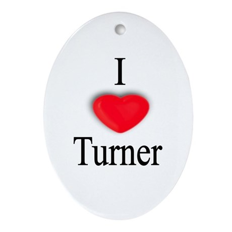 Turner Oval Ornament