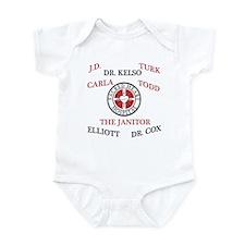 Scrubs Characters Infant Bodysuit