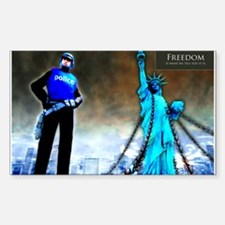 Freedom Rectangle Decal