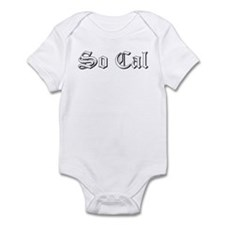 Funny So cal Infant Bodysuit