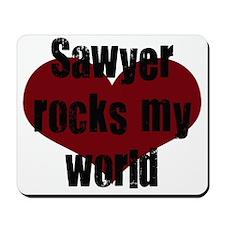 Sawyer Rocks! Mousepad