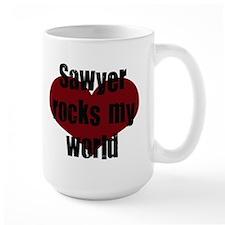Sawyer Rocks! Mug