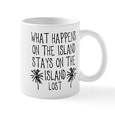 What Happens on the Island Mug