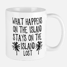 What Happens on the Island Mug