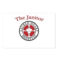 The Janitor Postcards (Package of 8)