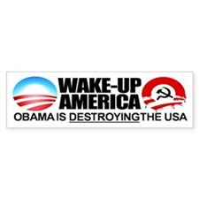 Extreme Anti-Obama Bumper Sticker (single)