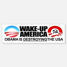 Extreme Anti-Obama Bumper Sticker (single)