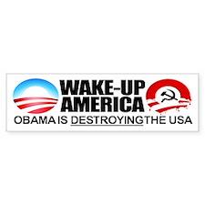 Extreme Anti-Obama Bumper Sticker (10 packs)