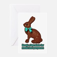 Chocolate for Medicinal purpo Greeting Card