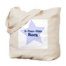 3-Year-Olds Rock Tote Bag