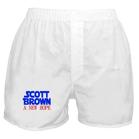 Scott Brown A New Hope Boxer Shorts