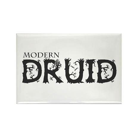Modern Druid Rectangle Magnet